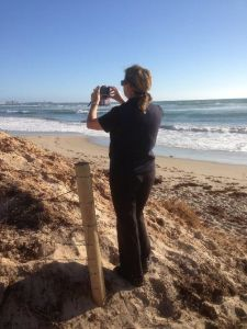Community volunteers are now using smartphones to photo- monitor local beaches