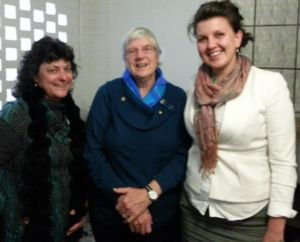 From left: Suzanne Woods, President WA Australian Women in Agriculture; Irene Mills, President of the National Rural Women's Coalition; Elizabeth Brennan, President of Australian Women in Agriculture.